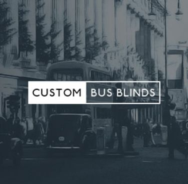 Custom Bus Blinds